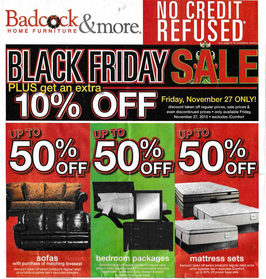 . Badcock Black Friday 2017 Ads  Deals and Sales